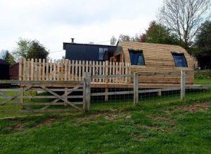 Shepherds Huts at Heath Hall Farm
